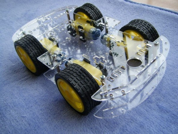 4wd chassis chiosz robots v2