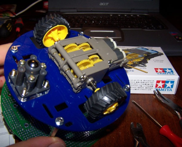 ball caster chiosz robots 3