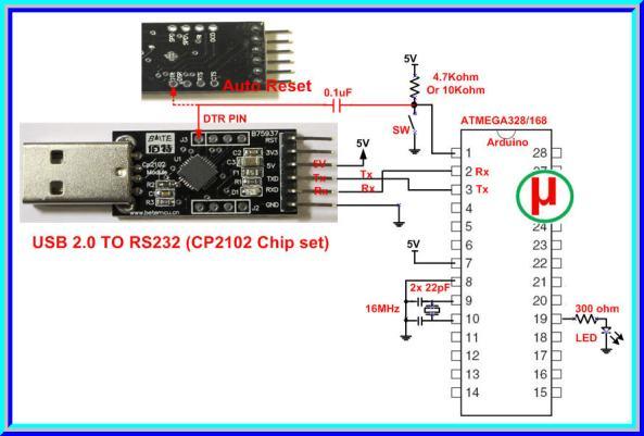 cp2102 serial converter usb chiosz robots 2