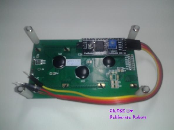 LCD chiosz deliberate robots Arduino
