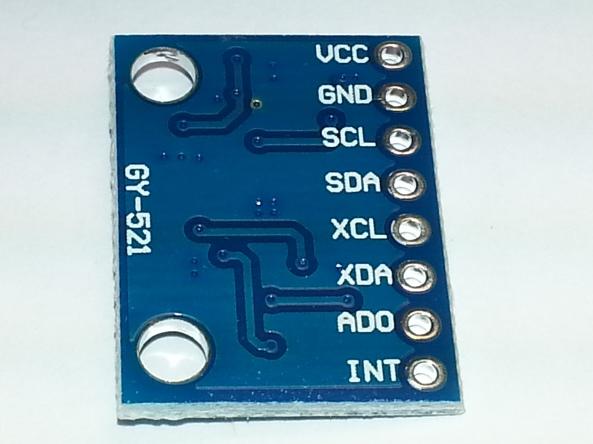 MPU6050 accelerometer chiosz robots