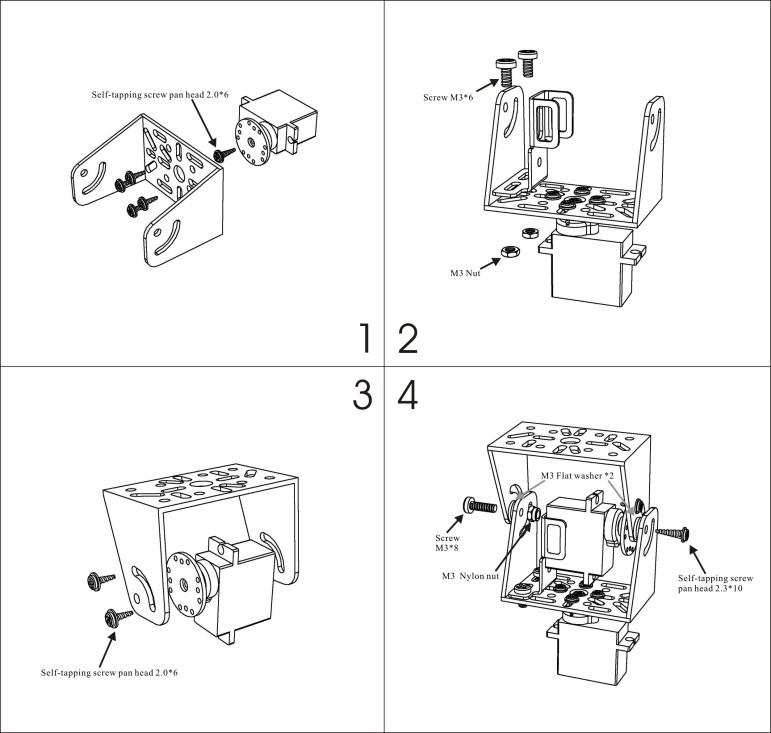 pan tilt mini chiosz robots 1