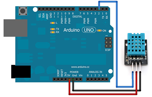 Redesign dht temperature and relative humidity sensor