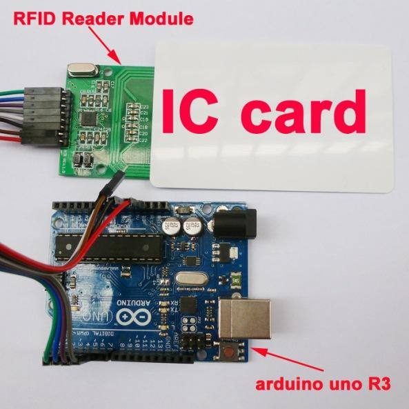 RFID 522 reader writer chiosz robots 5