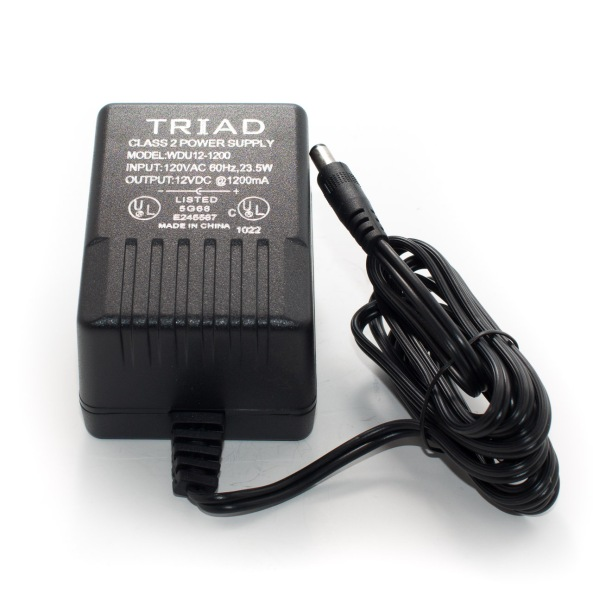 Adapter Triad 12v 1.2A chiosz robots 3
