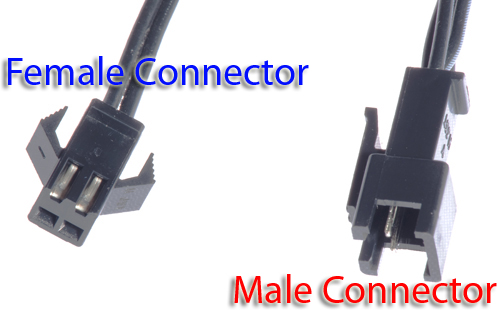 el wire male female connector chiosz robots 2