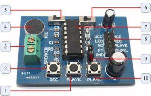 recording sound ISD1820  4