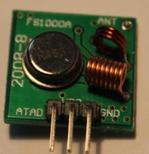 RF 433 Mhz ChiOSZ Robots