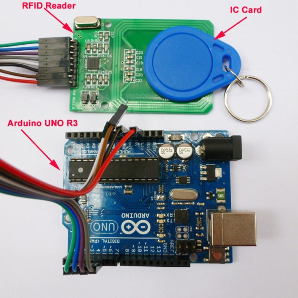 RFID 522 reader writer chiosz robots 4