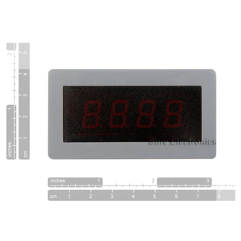 Digital Frequency Meter : ″ digital red led frequency meter hz