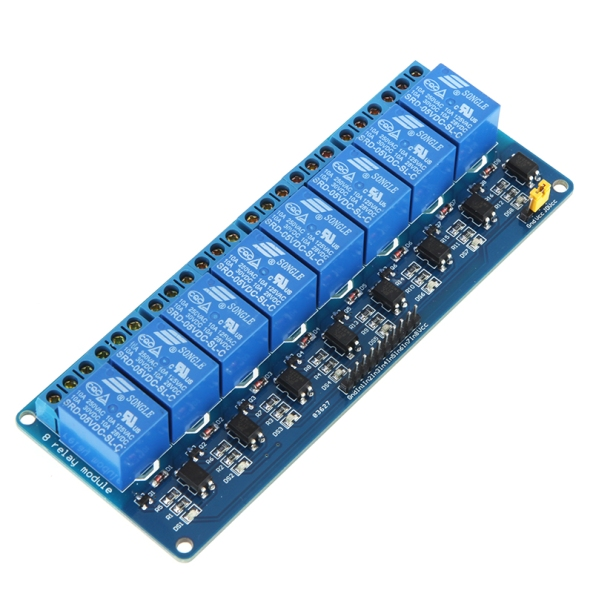 relay 8 channel opto chiosz robots