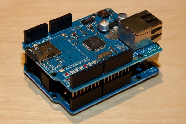 Ethernet shield W5100 chiosz robots 8