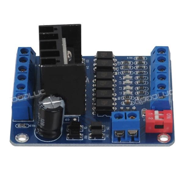 L298n dc stepper motor driver module w 6ch optocoupler for L298n stepper motor driver