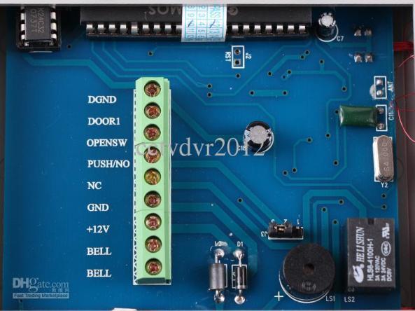 RFID control door chiosz robots 4