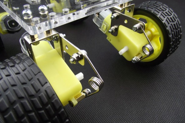 Chassis suspension 4WD chiosz robots 2