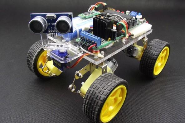 Chassis suspension 4WD chiosz robots 3