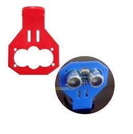 Mounting ultrasonic Hc SR04 chiosz robots 3