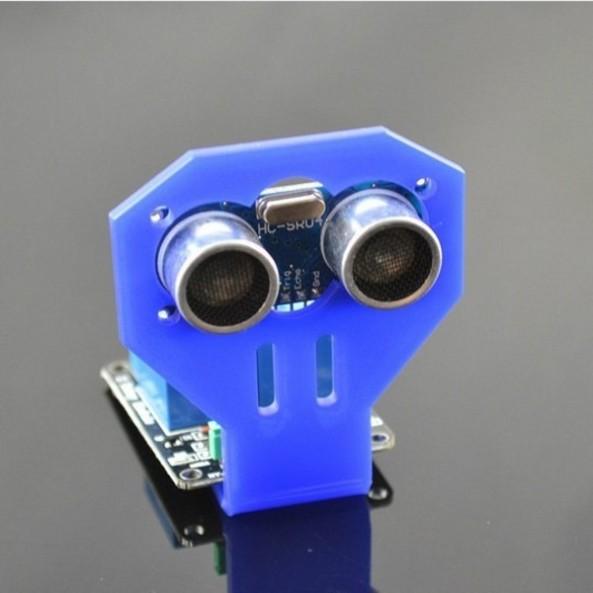 Mounting ultrasonic Hc SR04 chiosz robots 5