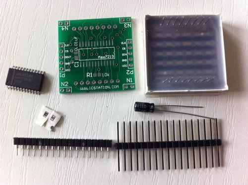 Matrix max7219 DIY chiosz robots 10