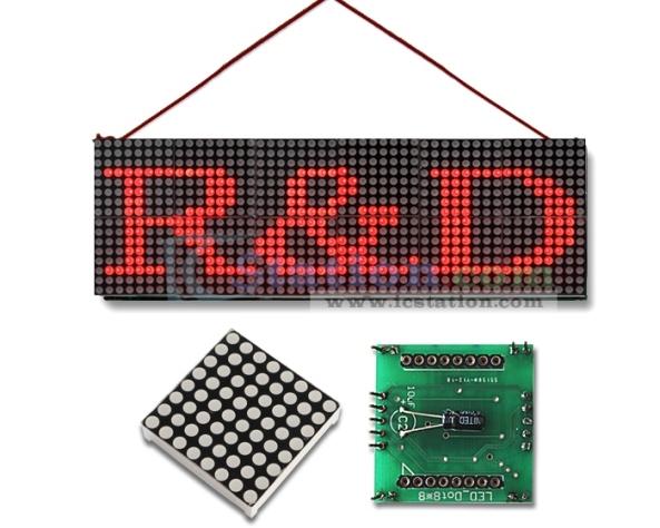 Matrix max7219 DIY chiosz robots 2