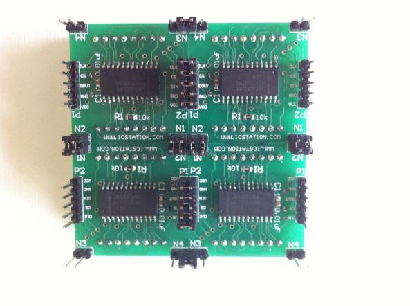 Matrix max7219 DIY chiosz robots 7
