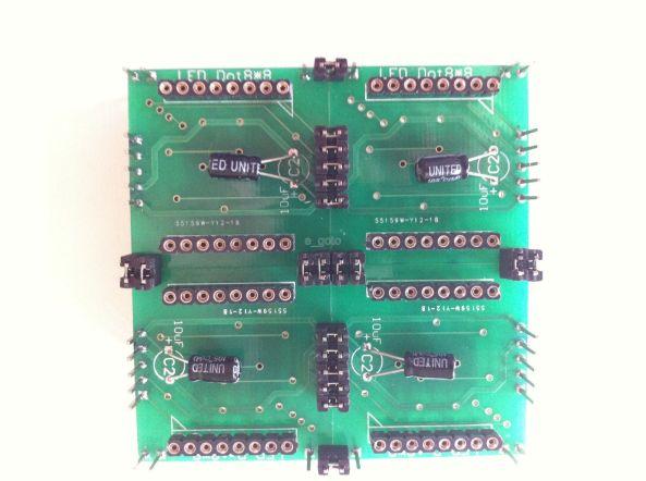 Matrix max7219 DIY chiosz robots 8