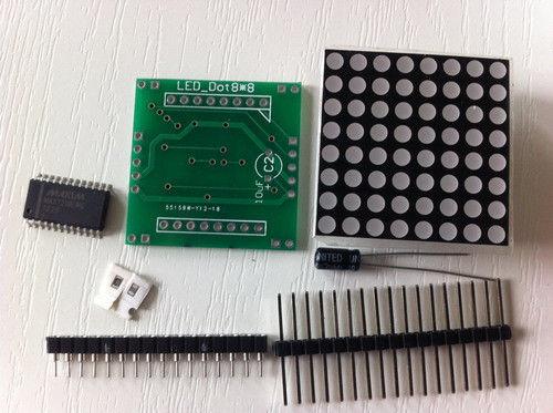 Matrix max7219 DIY chiosz robots 9