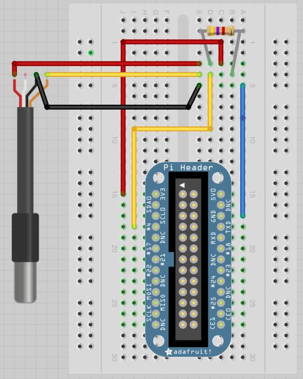 Temperature probe DS18B20 chiosz robots 8
