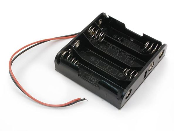 Battery holder 4AA chiosz robots 2