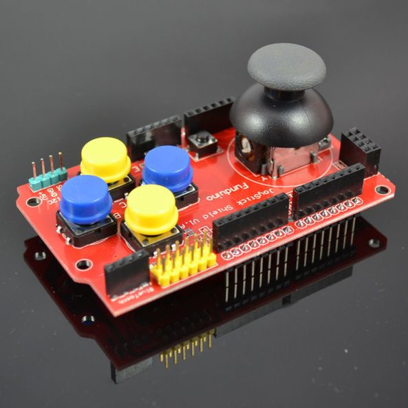joystick shield arduino chiosz robots NEW