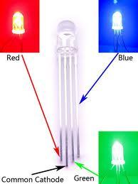 RGB led clear cathode chiosz robots 2