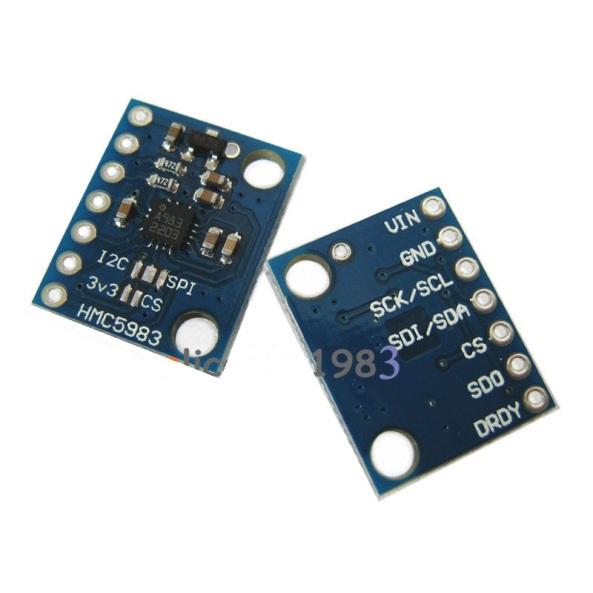 compass HMC5983 temperature chiosz robots 2