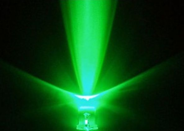 LED green 3mm ultrabright chiosz robots
