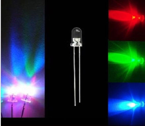 Led RGB slow flash 5mm chiosz robots