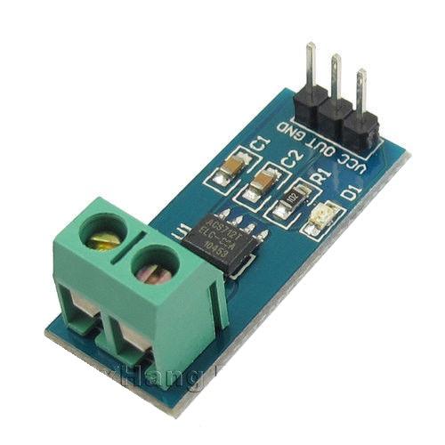 20a range current sensor module acs712 chiosz robots