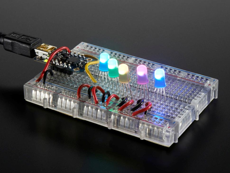 Smart Led Addressable Rgb Ws2811 5mm Diffused