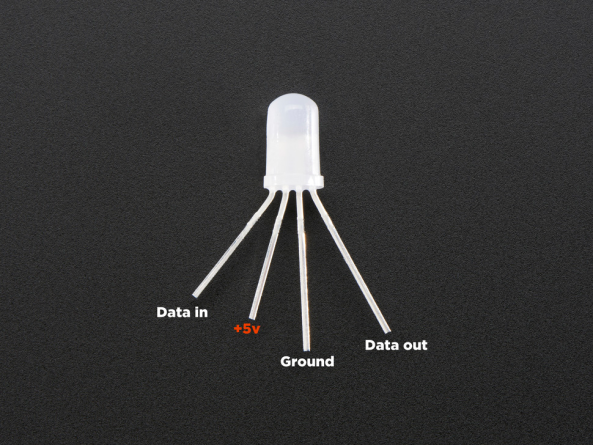 Led 5mm addressable diffused chiosz robots 9