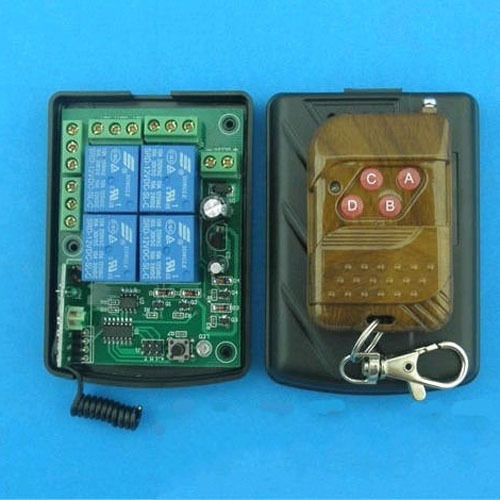 Dc v channel relay rf wireless remote control