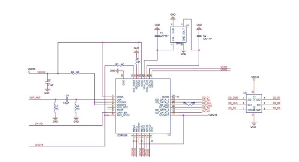 Wifi ESP8266 module chiosz robots 6