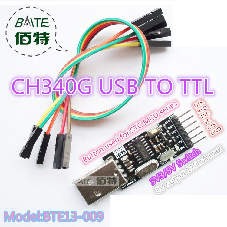USB To RS232 PL2303 TTL Converter Adapter For