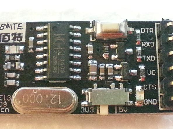 USB adapter CH340G chiosz robots 7