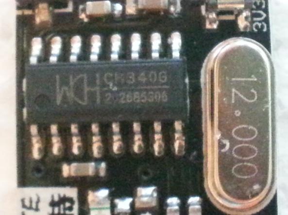 USB adapter CH340G chiosz robots 8