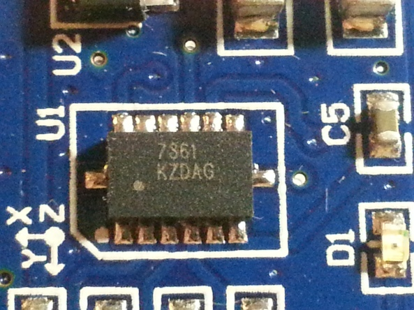 accelerometer MMA7361 angle sensor chiosz robots 4