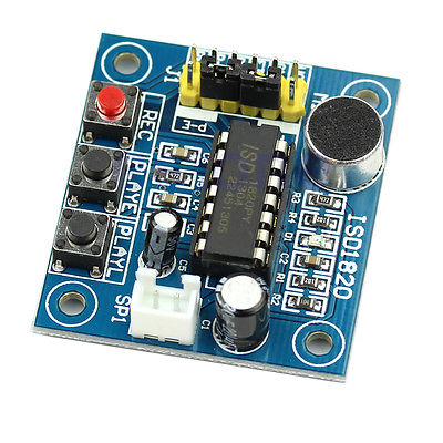 ISD1820 recorder loudspeaker sound chiosz robots 3