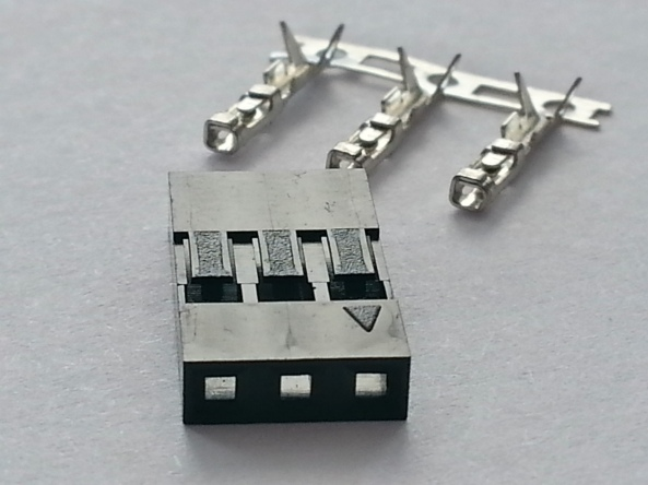 connector 2.54mm 3p female chiosz robots 4