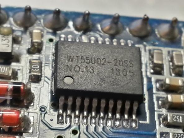 voice recorder usb WT588D chiosz robots 6