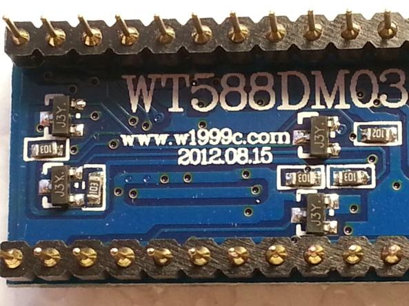 voice recorder usb WT588D chiosz robots3