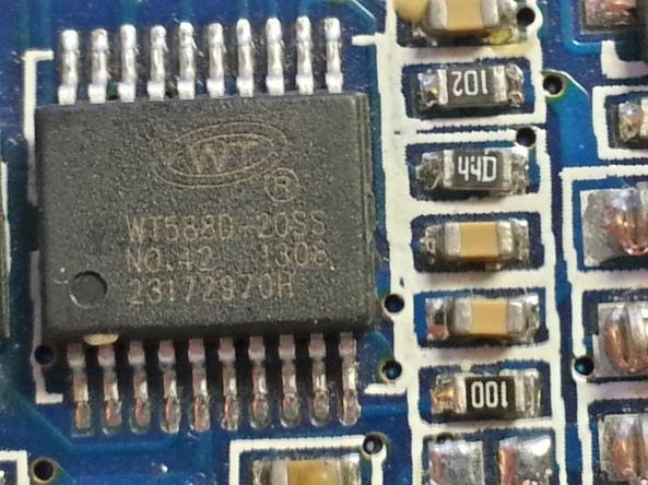 voice recorder usb WT588D chiosz robots4