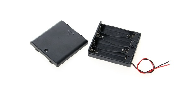 Battery holder 4AA switch chiosz robots 2