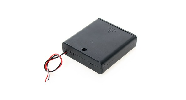 Battery holder 4AA switch chiosz robots 3